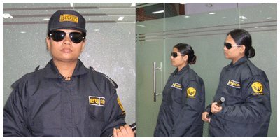 Get Trained Female Security Guard In Delhi Ncr Secura